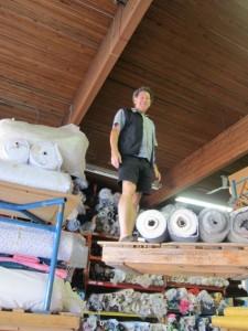 neil in warehouse