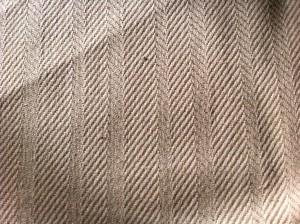 herringbone linen