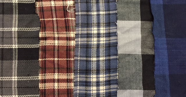 woven flannel
